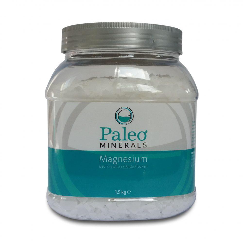 Paleo Minerals Magnesium Flakes (1,5kg) pot